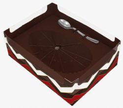 Caixa Ovo de Colher - 250 grs - Pcte c/ 10 unds