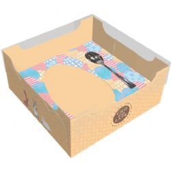 Caixa Ovo de Colher - 100 grs - Pcte c/ 10 unds