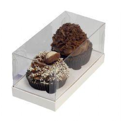 Caixa Presente 02 cupcakes