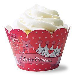 Wrapper Cupcake Infantil - pacte. com 12 unids.